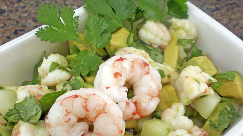 Argentine Red Shrimp Ceviche Recipe Seatech Corporation