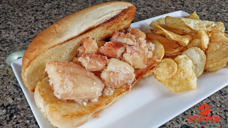 Butter Poached Chilean Crab Roll Recipe | Seatech Corporation