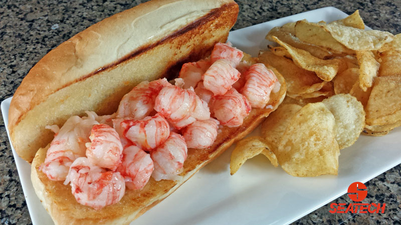 Butter Poached Langostino Lobster Roll Recipe | Seatech Corporation