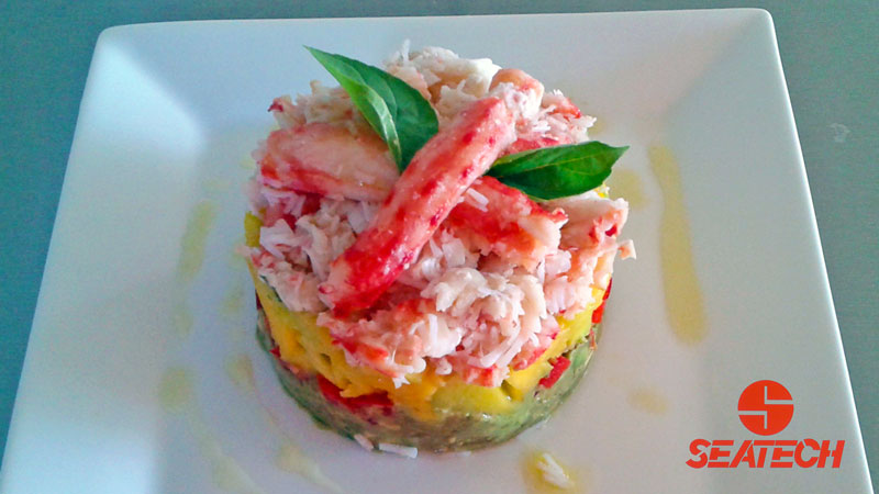Chilean King Crab Tower Recipe | Seatech Corporation