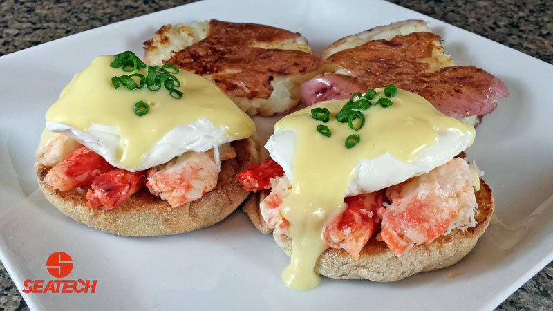 King Crab Eggs Benedict | Seatech Corporation